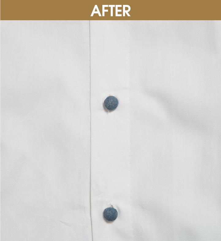 REMAKE06|ボタンひとつで  シャツの趣を変える
