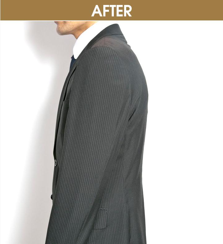 BASIC05|[袖の太さ] 太目はご法度