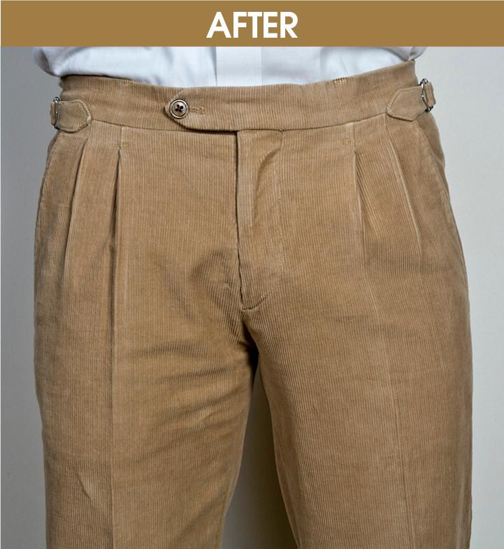 TREND01|パンツにタックを入れる