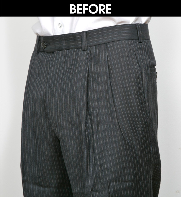 TREND02|パンツのタックを消す